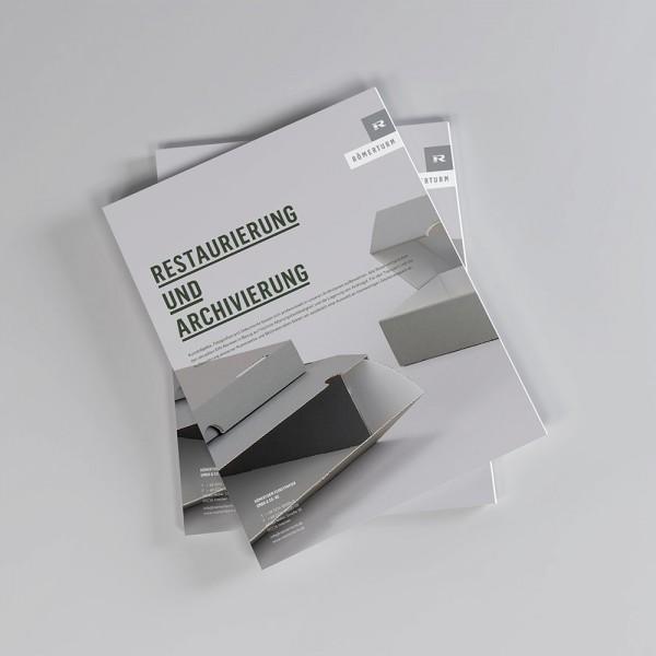 Restauerierung &amp; Archivierung<br/>
