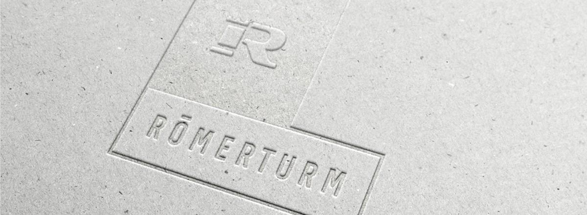 Römerturm Feinstpapier mit neuem Corporate Design