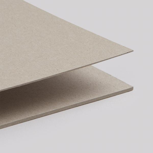 Buchbinderpappe graubeige, säurefrei