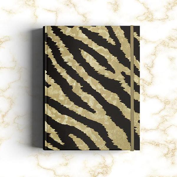 Notebook Gold Tiger