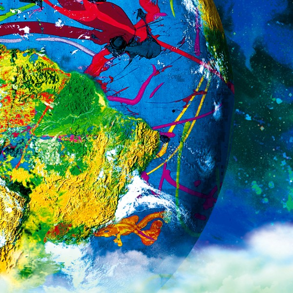 Harald Glööckler Fine Art Planet Earth