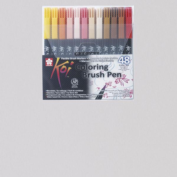Sakura® KOI Coloring Brush Pens Sets