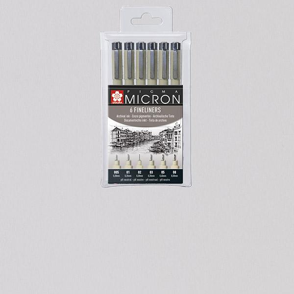 Sakura® Pigma Micron Sets
