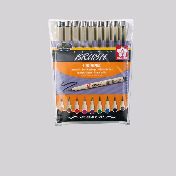 Sakura® Pigma Brush Sets