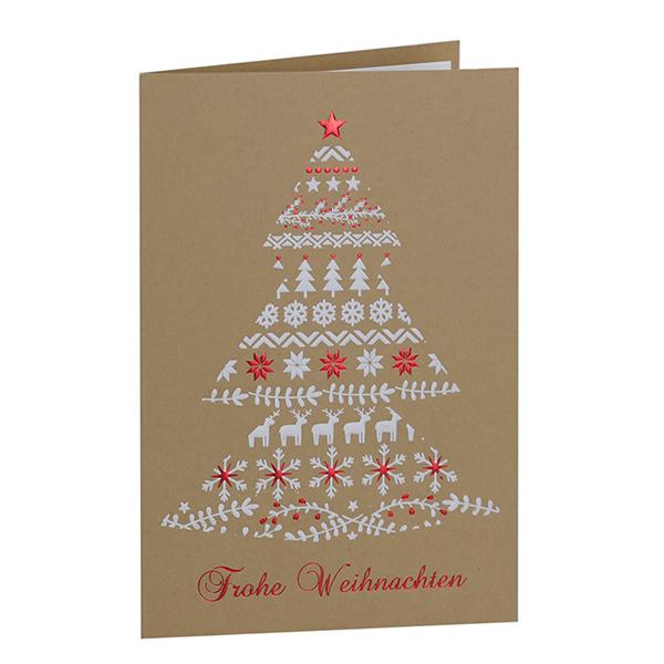 Weihnachtskarte Weihnachtsbaum Motive