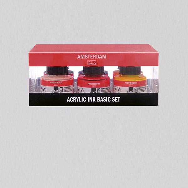 Amsterdam Acrylic Ink Set