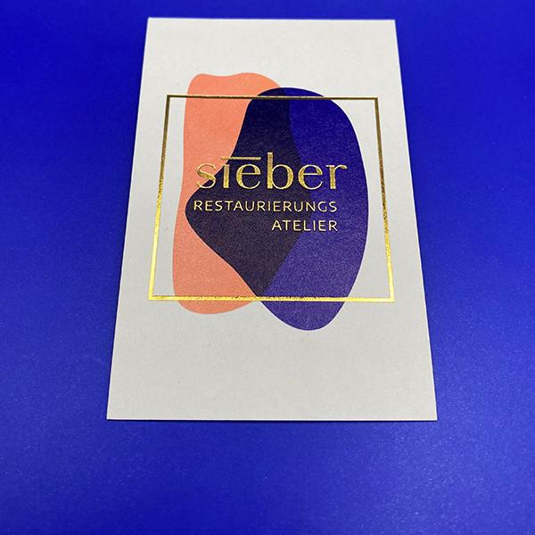 Visitenkarte Sieber<br/>