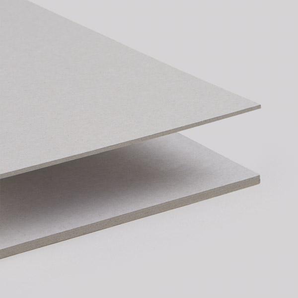 Buchbinderpappe grau, säurefrei