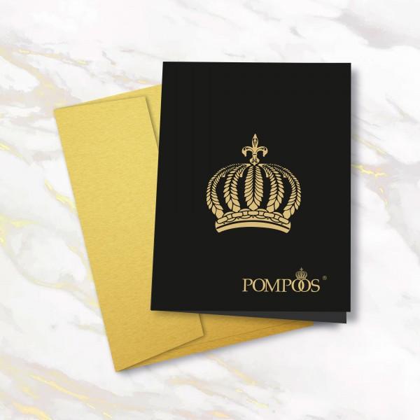 Grußkarte - Krone